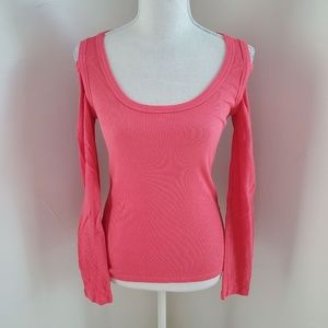 NWOT Bebe SPORT Cutout Shoulder Top S